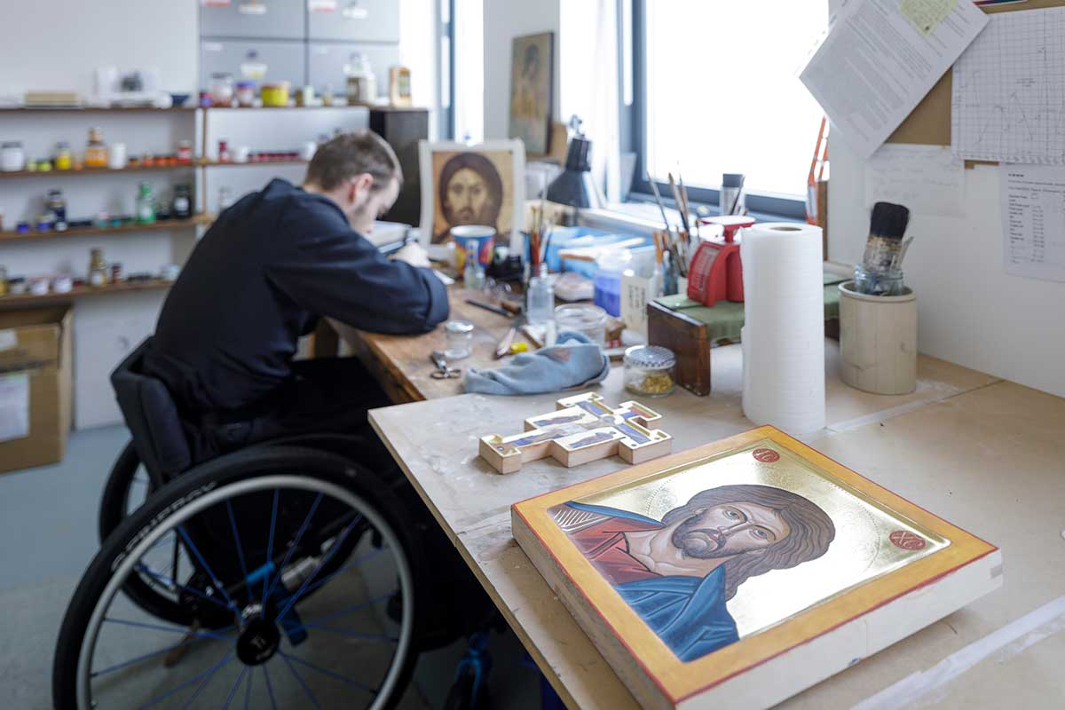 Brother Michäel OSB - Icon painting