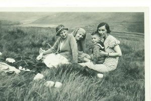 Joyce Meredith and family