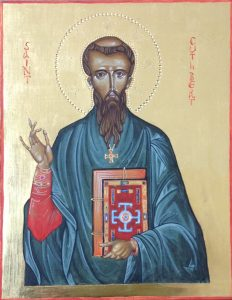 St Cuthbert icon