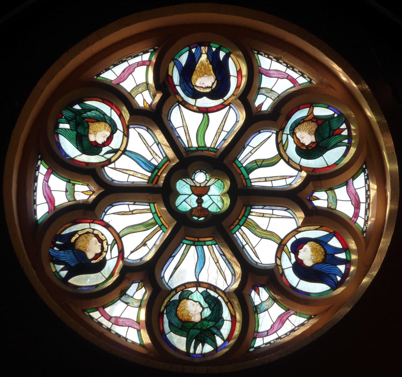 Malvern Rose Window