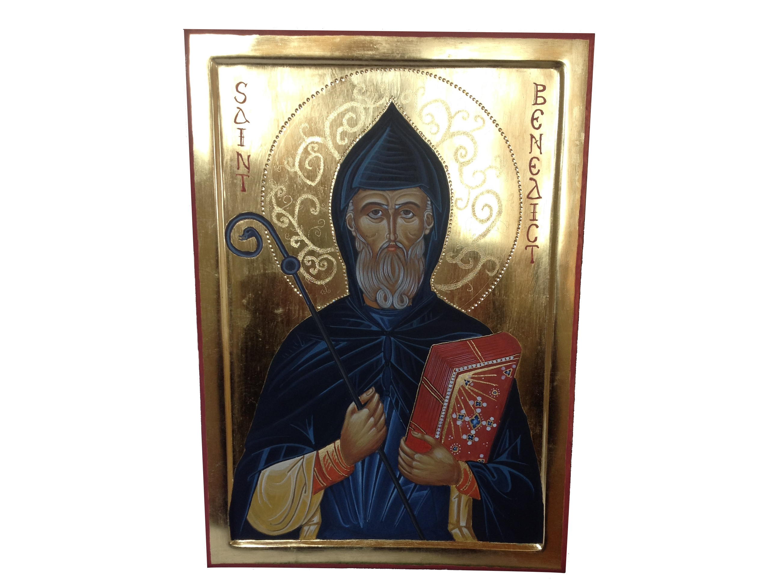 St Benedict post