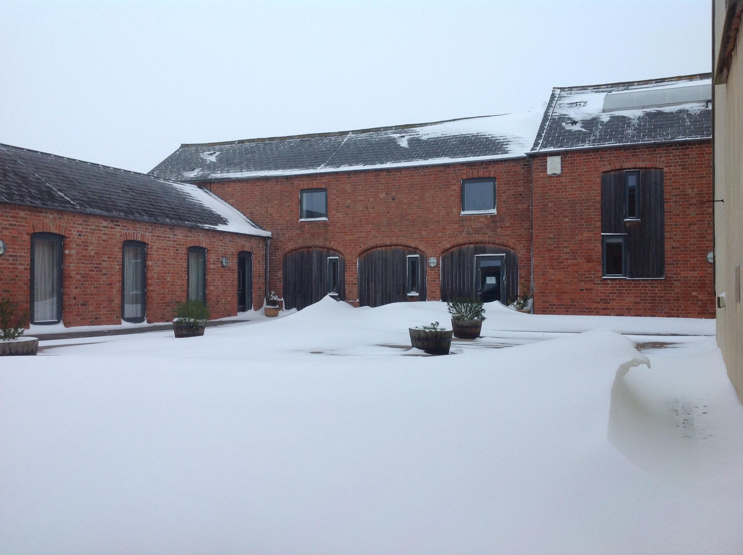 snow at mucknell