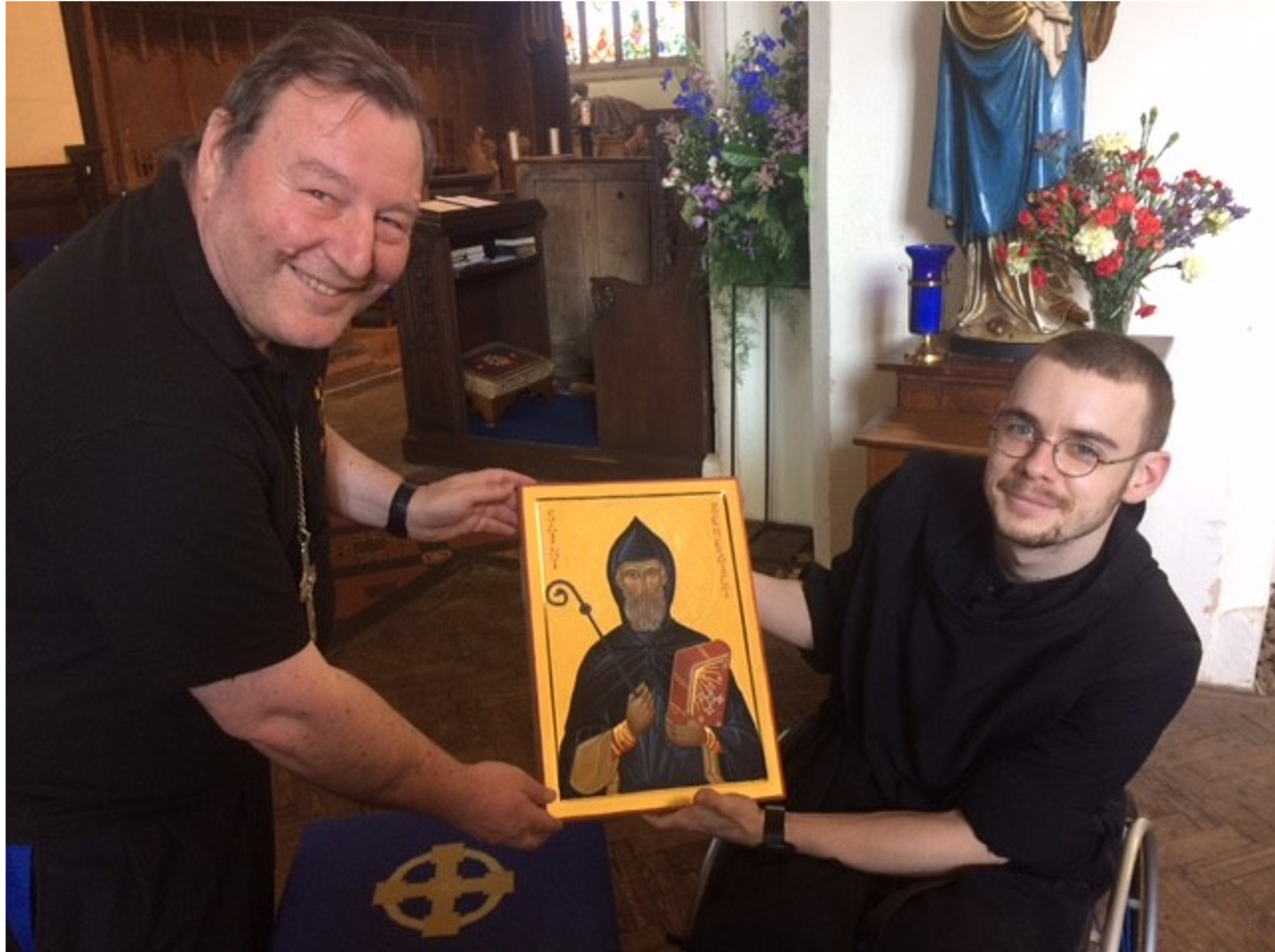 Canon Mark and Br Michael