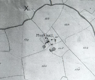 Mucknell Tithe Award Map 1838