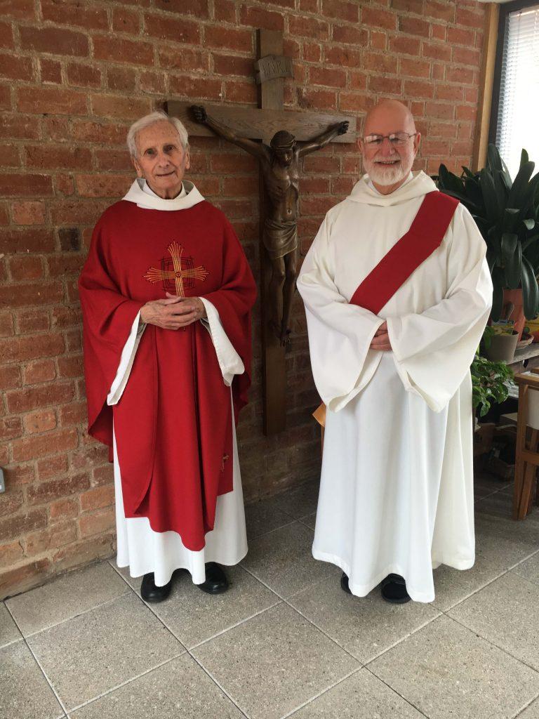 Fr Raymond & Br Stuart