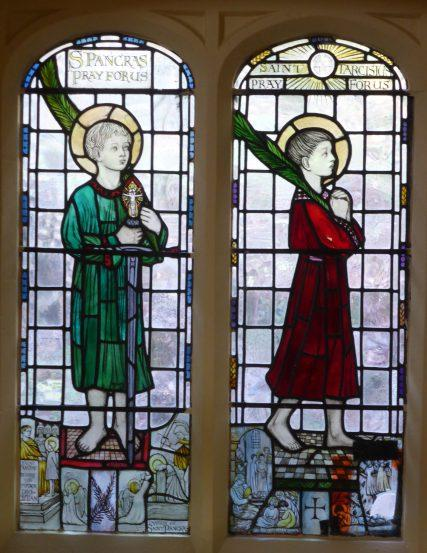 Sanctuary window, West Malvern