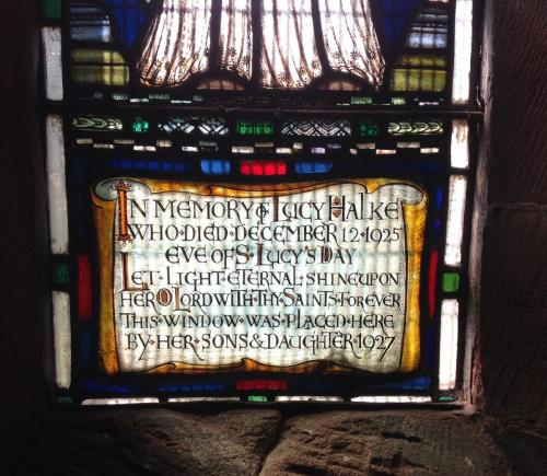 Halke window (detail), Withington